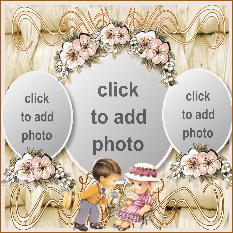 Imikimi Zo - Photo Album Frames - Cute Couple On Lovely Backdrop ...