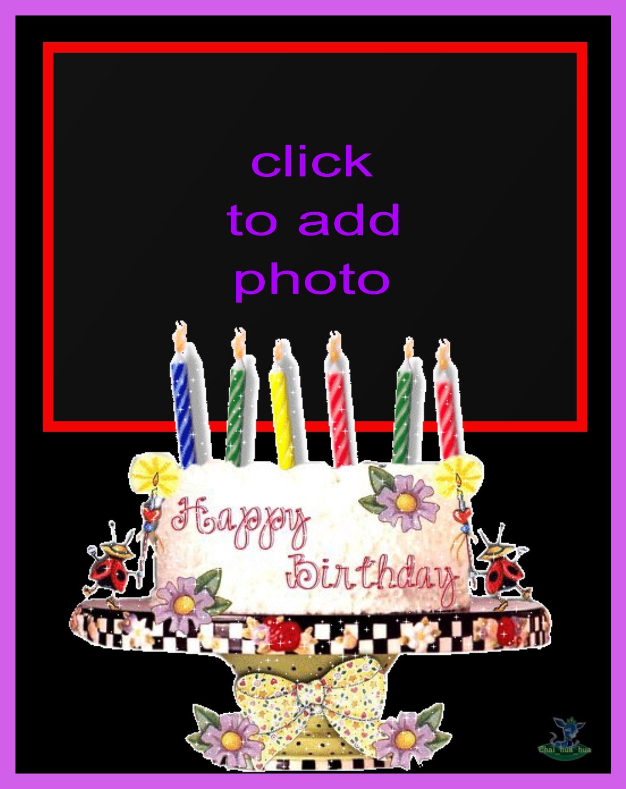Imikimi Zo Birthday Frames Animated Birthday Cake Frame Animated