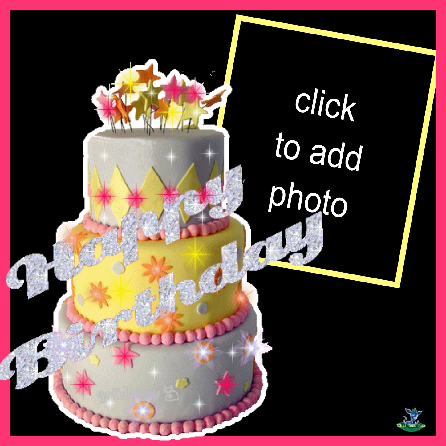 Fabulous Imikimi Zo Birthday Frames Animated Layered Birthday Cake Personalised Birthday Cards Epsylily Jamesorg