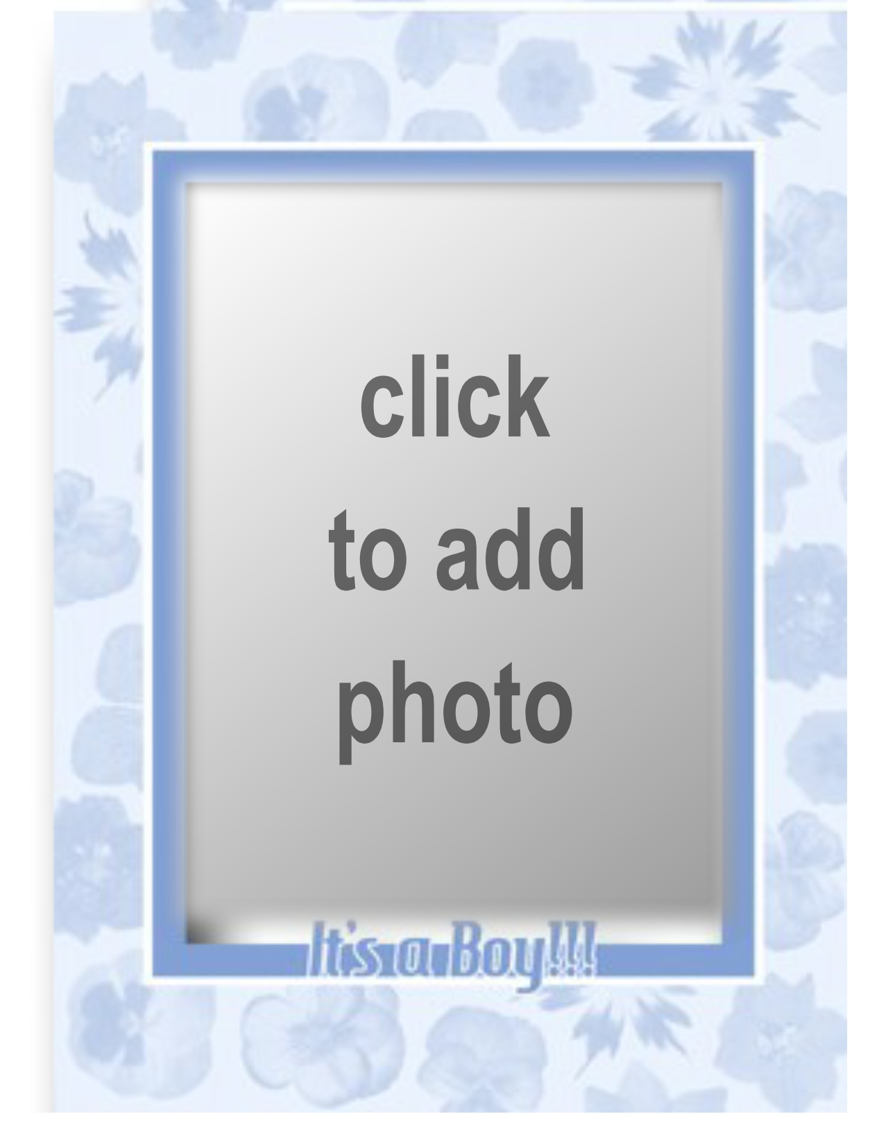 Imikimi Zo - Special Day Frames - Its A Baby Boy Photo Frame ...