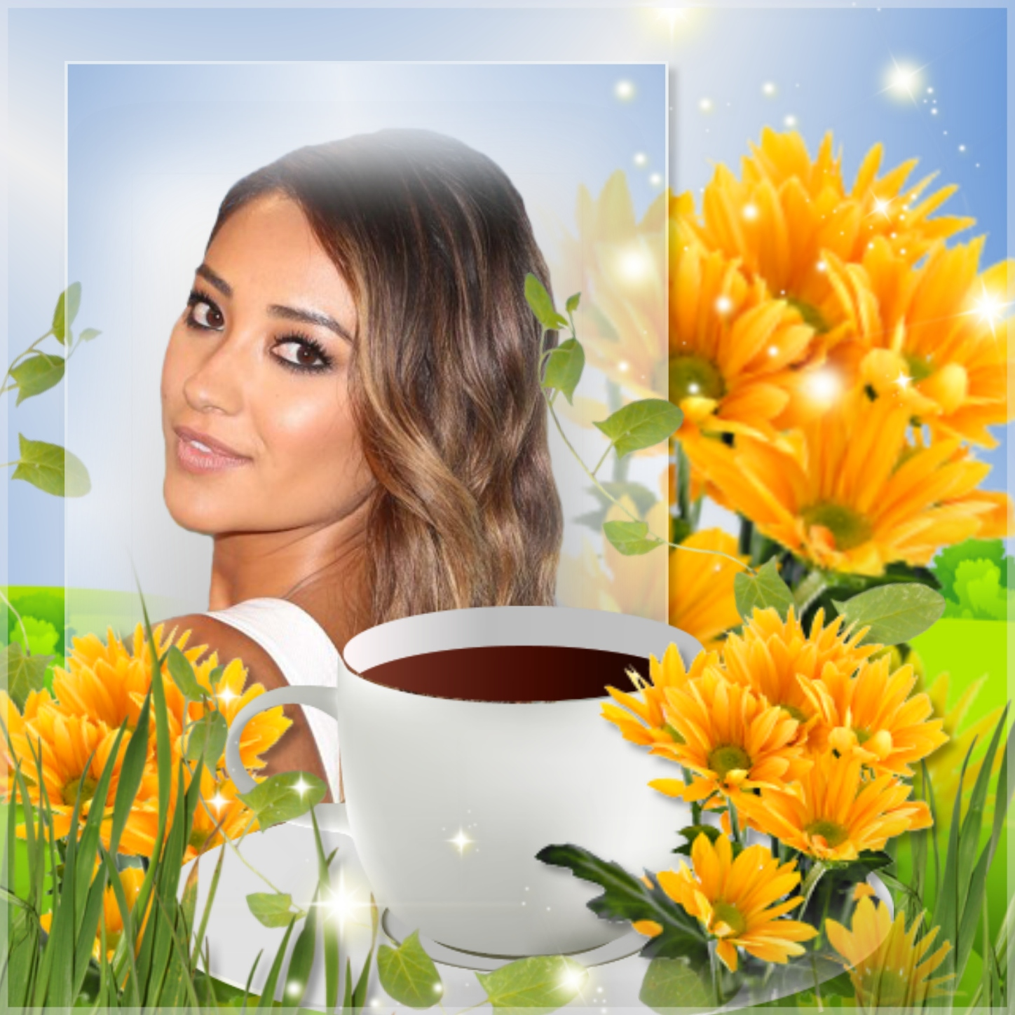 Imikimi Zo - Good Morning and Good Evening Frames - coffee time good ...