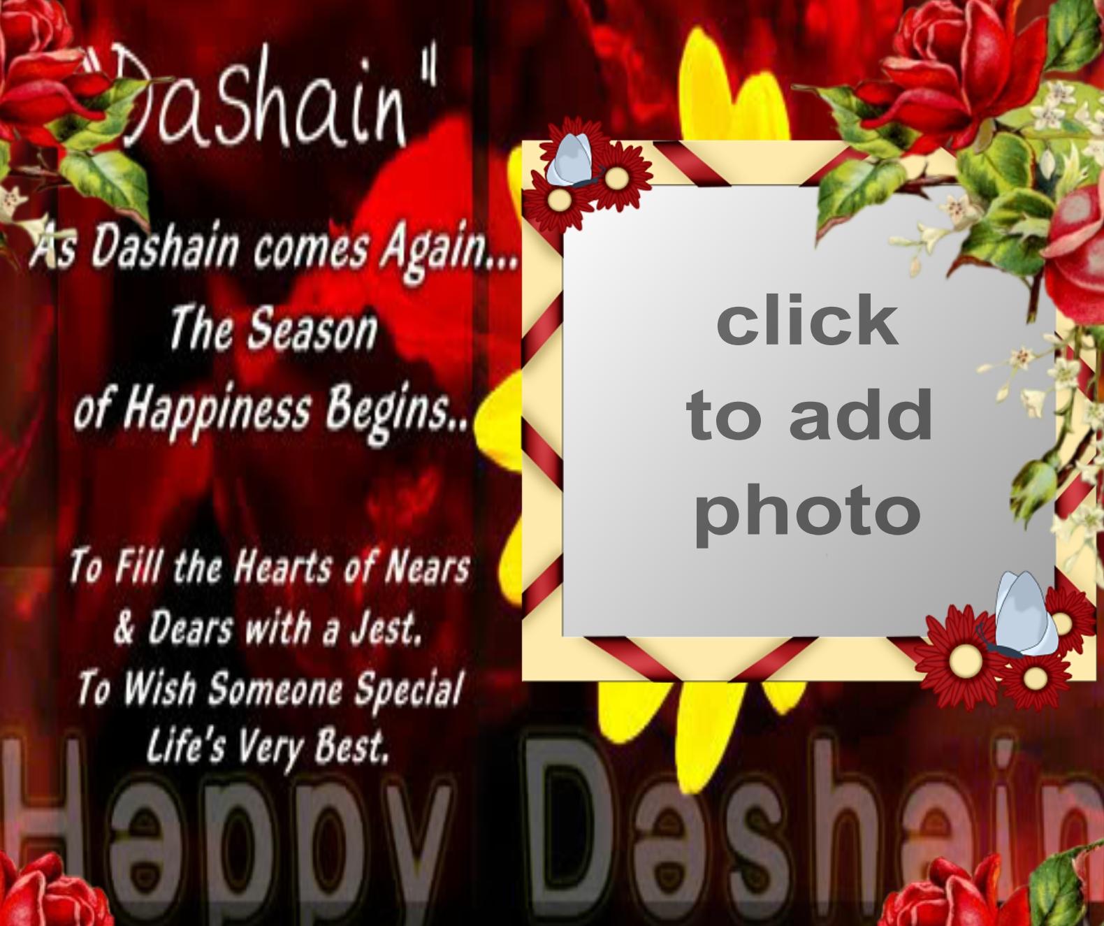 Imikimi Zo Holiday Frames Happy Dashain Nepali Prashna