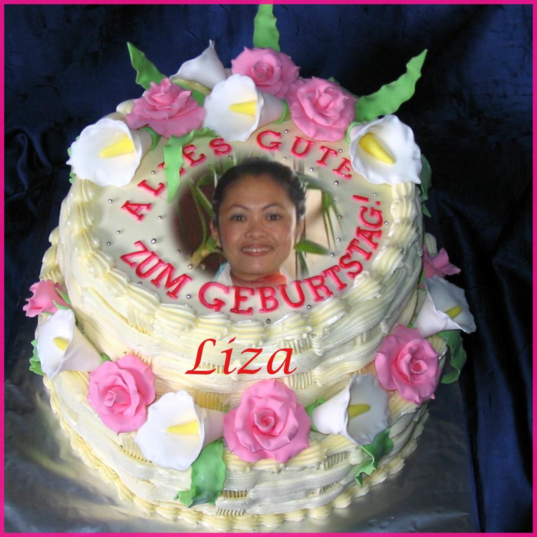 Kirsches Kimi Frames 2008 April Happy Birthday Birthday Cake