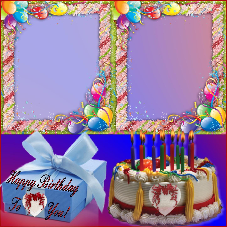 Imikimi Happy Birthday 2 Frame Allcanwear