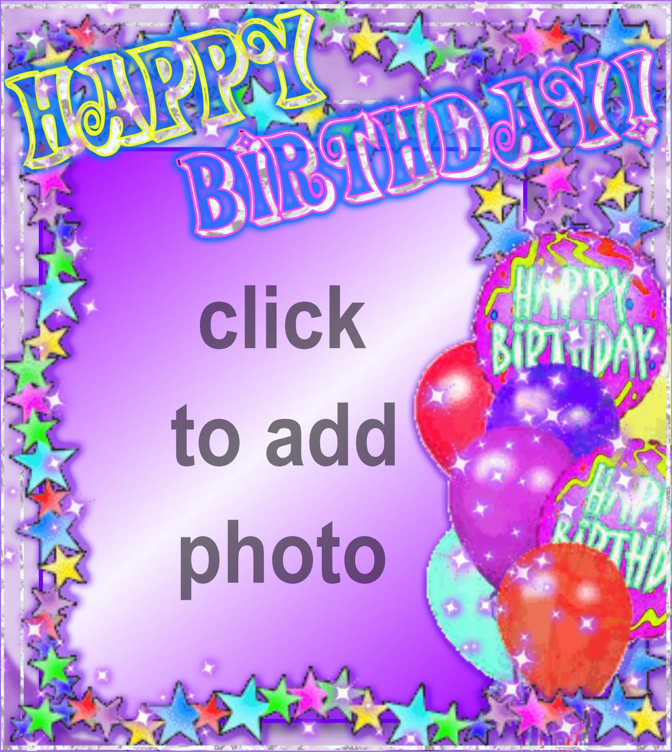 Imikimi Birthday Card With Photo Insert Thedoctsite
