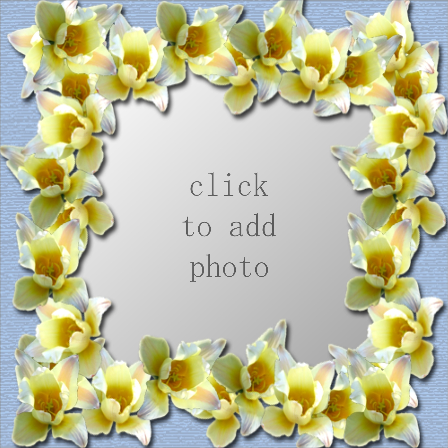 Imikimi Zo - Picture Frames - Flower frame Thank you for using my ...