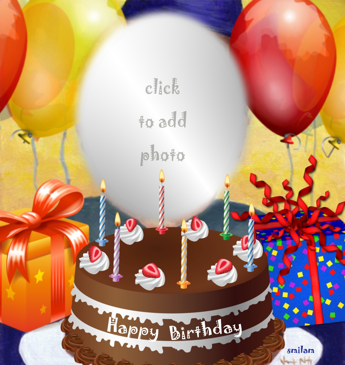 Imikimi Happy Birthday Free Frame Framesite